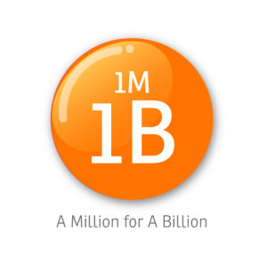 1 Million for 1 Billion (1M1B)