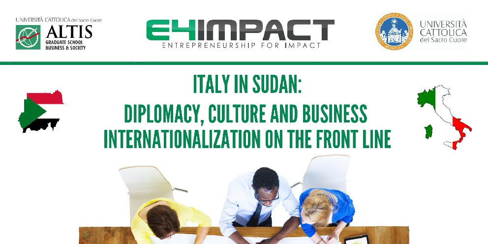 Italy in Sudan: diplomacy, culture and business internationalization on the front line
